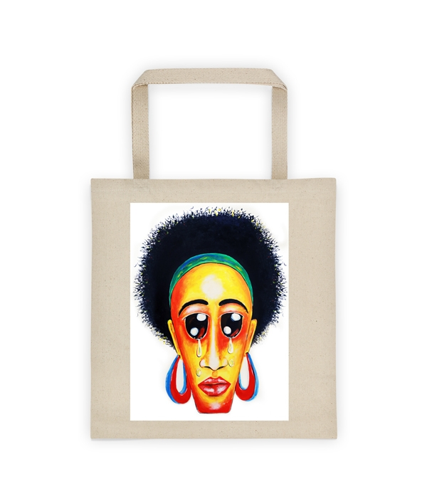 End Pain Canvas Tote