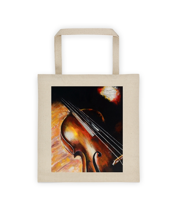 Groovy Canvas Tote