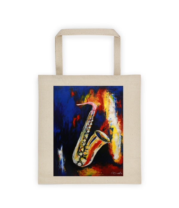 Standing Alone Canvas Tote