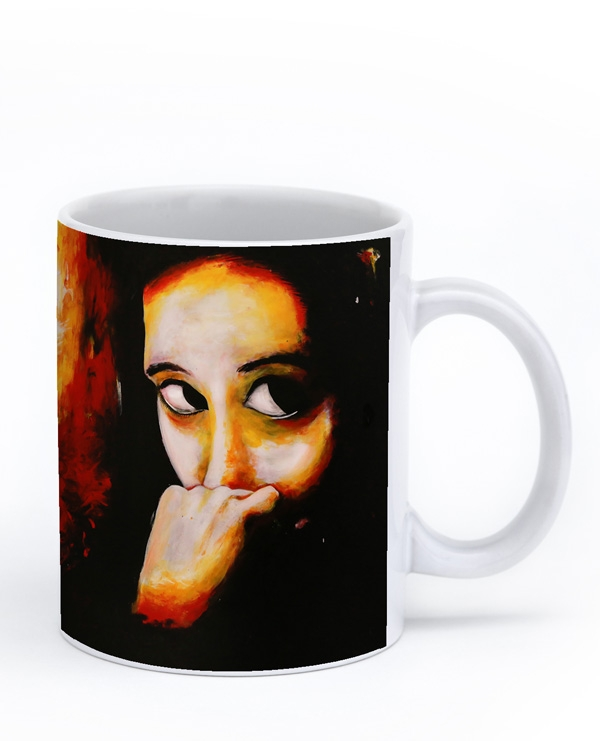 On the qui vive Mug